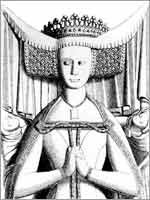 Принцесса Беатрис, графиня Арундельская. Англия 14 в.