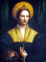 Портрет женщины, Бернардино Луини, 1520 г.