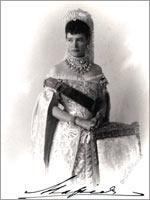 Императрица России Мария Фёдоровна, бывшая принцесса Датская Мария-София-Фредерика-Дагмара
