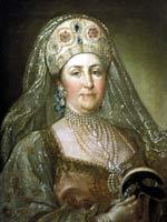 Стефано Торелли. Портрет Екатерины II в русском платье