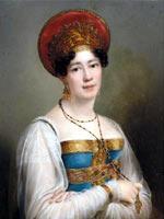 Франсуа Кинсон. Портрет Совфии Петровны Свечиной, 1816 г.