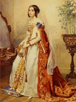 М.П. Кикина, в замужестве Волконская (1816-1856), фрейлина императрицы
