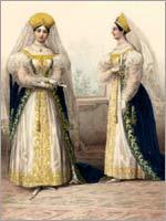 Наставницы великих княжон. Альбом «Придворных дамских нарядов», 1834 г.