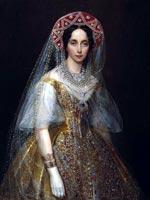 Иван Макаров. Портрет императрицы Марии Александровны, жены Александра II