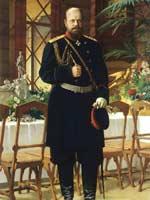Н. Дмитриев-Оренбургский. Император Александр III. 1896 г.