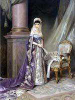 Константин Маковский. Портрет императрицы Марии Фёдоровны, жены Александра III