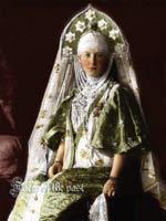 Великая княгиня Мария Георгиевна в наряде крестьянки из Торжка