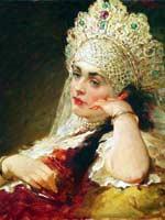 К.Е. Маковский «Девушка в жемчужном ожерелье»