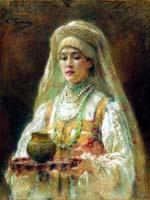 К.Е. Маковский «Чарка мёда»
