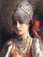 К.Е. Маковский «Грустная княжна»