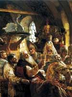 К.Е. Маковский «Боярский свадебный пир»