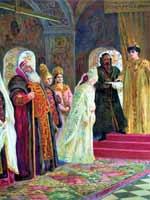 К.Е. Маковский «Выбор невесты царём Алексеем Михайловичем»