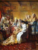 К.Е. Маковский «Под венец»