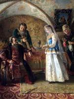 К.Е. Маковский. Картина из боярского цикла