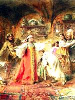 К.Е. Маковский «Игра в жмурки»