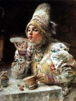 К.Е. Маковский «За чаем»