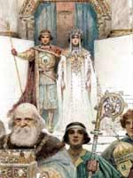 С. Соломко. Свадебная церемония в средние века