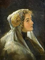 С. Соломко. Русская красавица