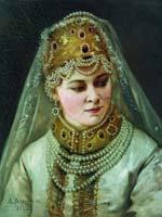 А.И. Корзухин «Боярышня» 1882 г.
