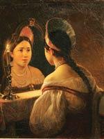 К.П. Брюллов «Гадающая Светлана» 1836 г.