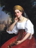 Г.С. Седов (1836-1884) «Боярышня»