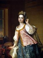 Д.Г. Левицкий «Портрет Агафьи Левицкой, дочери художника» 1785 г.