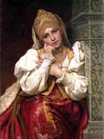Ф.С. Журавлев «Боярышня» 1896 г.