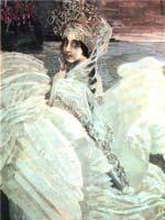 М.А. Врубель «Царевна-Лебедь» 1900 г.