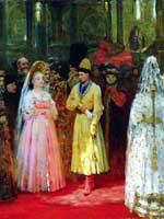 Илья Репин «Выбор великокняжеской невесты»