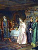Фёдор Бугхольц «Поцелуйный обряд»