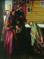 Иван Куликов «Старинный обряд благословения невесты в городе Муроме