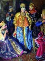 Иван Куликов «Убор невесты» 1907 г.