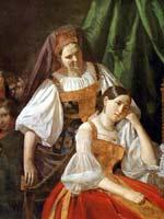 В.Е. Феклистов «Приготовление невесты к венцу» 1848 г.