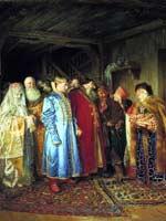 Клавдий Лебедев «Боярская свадьба» 1883 г.