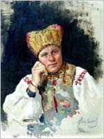 В.М.Максимов  «Русская крестьянка»1896 г.