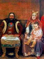 А.Рябушкин. Семья купца в XVII веке. 1896 г.