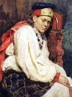 Рис. 316. В. Суриков «Натурщица в старинном русском костюме» 1882 г.