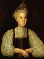 Портрет К.А. Серебряниковой. 1810-е. Неизв. худ.