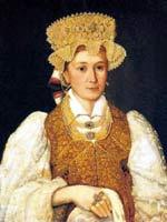 Неизвестный художник «Портрет торопчанки». Первая половина 19 века