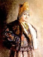 К. Маковский «Боярышня»