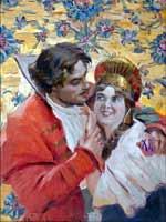 Константин Вещилов «Пасха (Нина)» 1918 г.