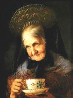 Юждин Лингенфельдер (Lingenfelder Eugen (1862-1930)). Портрет старухи (Мюнхен)