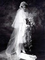 Свадебные головные уборы 20-х годов