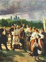 Константин Трутовский Свадебный выкуп. 1881 г.