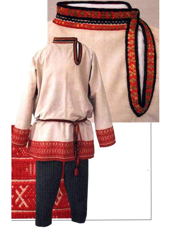 Русский костюм.