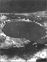 Рис.9. Воронка от ядерного взрыва
