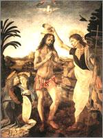 Крещение, Леонардо. Иллюстрация к статье Георгия Костылева «Военно-исторические хохмы»