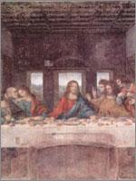 Тайная вечеря, Леонардо. Иллюстрация к статье Георгия Костылева «Военно-исторические хохмы»