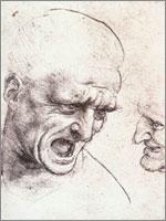 Леонардо да Винчи. Иллюстрация к статье Георгия Костылева «Военно-исторические хохмы»
