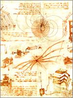 Рисунки Леонардо. Иллюстрация к статье Георгия Костылева «Военно-исторические хохмы»